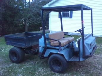1036269 1988 Pug Utility Vehicle Non Op