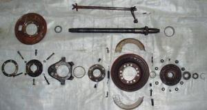 Ford 8N 1951 #362467  Axle And Brake Exploded View  TractorShed