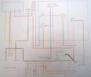 Farmall 656 1967 Gas Non Hydro  Wiring Diagram As Fitted  TractorShed
