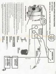 Ford 9N Conversion  Wiring Diagram  TractorShed