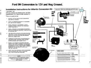 n volt conversion wiring diagram wiring diagram wiring diagram for ford 9n tractor the