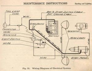 Case SC wiring diagram  Case and David Brown Forum