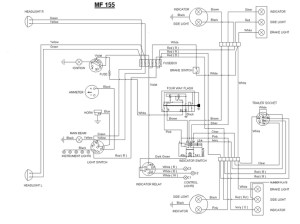 Really need some help with MF 165 wiring  Massey Harris