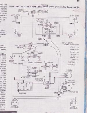 Power major wiring diagram  Yesterday's Tractors