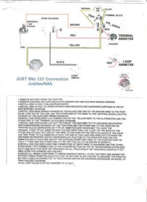 Wiring Diagram for Ford NAA tractor  Ford Forum