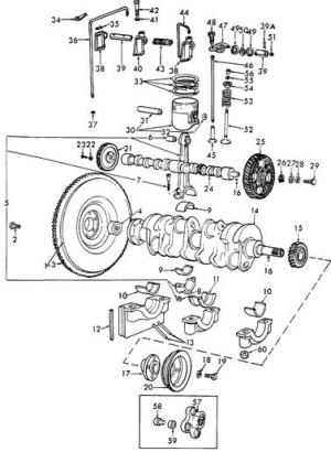 Ford Tractors Discussion Board  Re: 172 CID cyl head parts diagram
