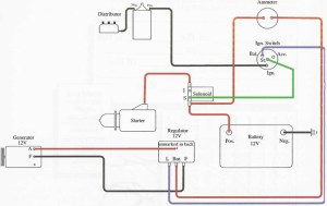 WD45 12v Gen wiring diagram  Allis Chalmers