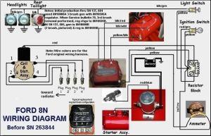 9n 2n wiring diagram  Yesterday's Tractors