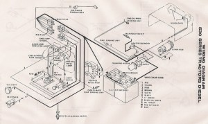 Case 530 wiring diagram  Yesterday's Tractors (203613)