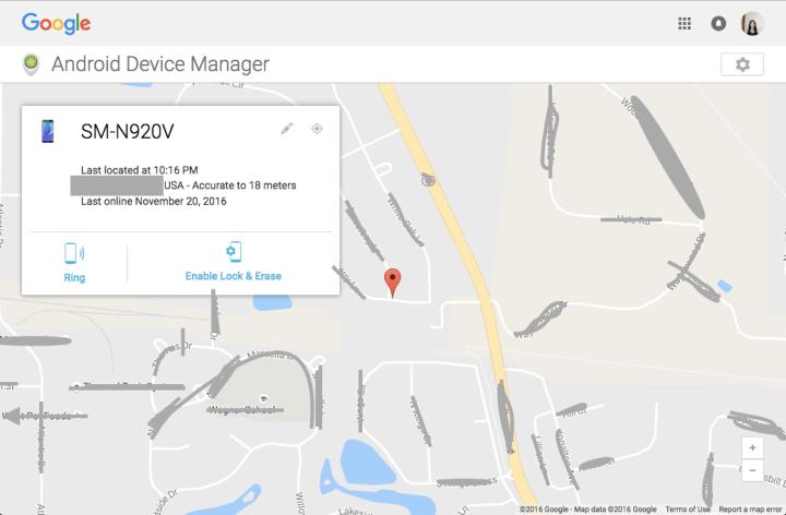 phone-located