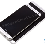 HTC One Max vs One (front views)