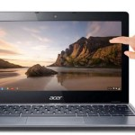 Touchscreen Chromebook from Acer