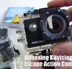 Unboxing Kitvision Escape Action Camera