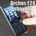 Archos F24 Power Unboxing