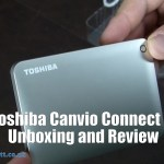 Toshiba Canvio Connect II Unboxing and Review