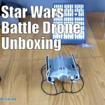Star Wars Battle Drone Darth Vader's TIE Advanced X1 Unboxing