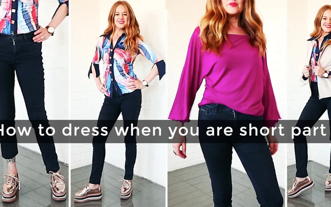 How to dress when you are short for women over 40 part 3 – casual
