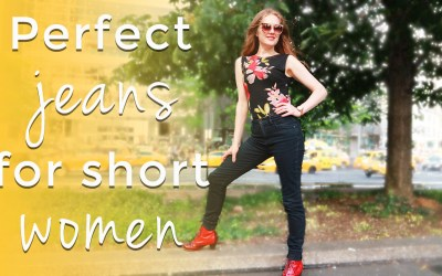 Perfect jeans for short women