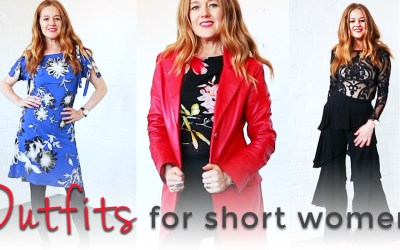 Outfits for short women over 40