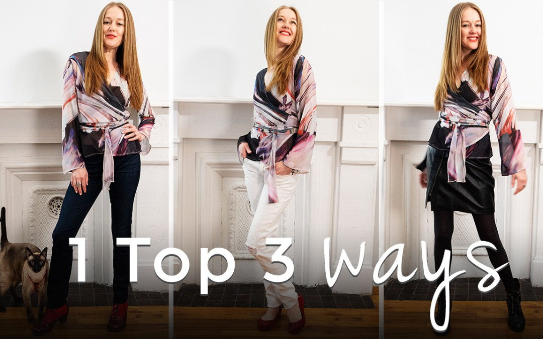 3 Ways to wear 1 top