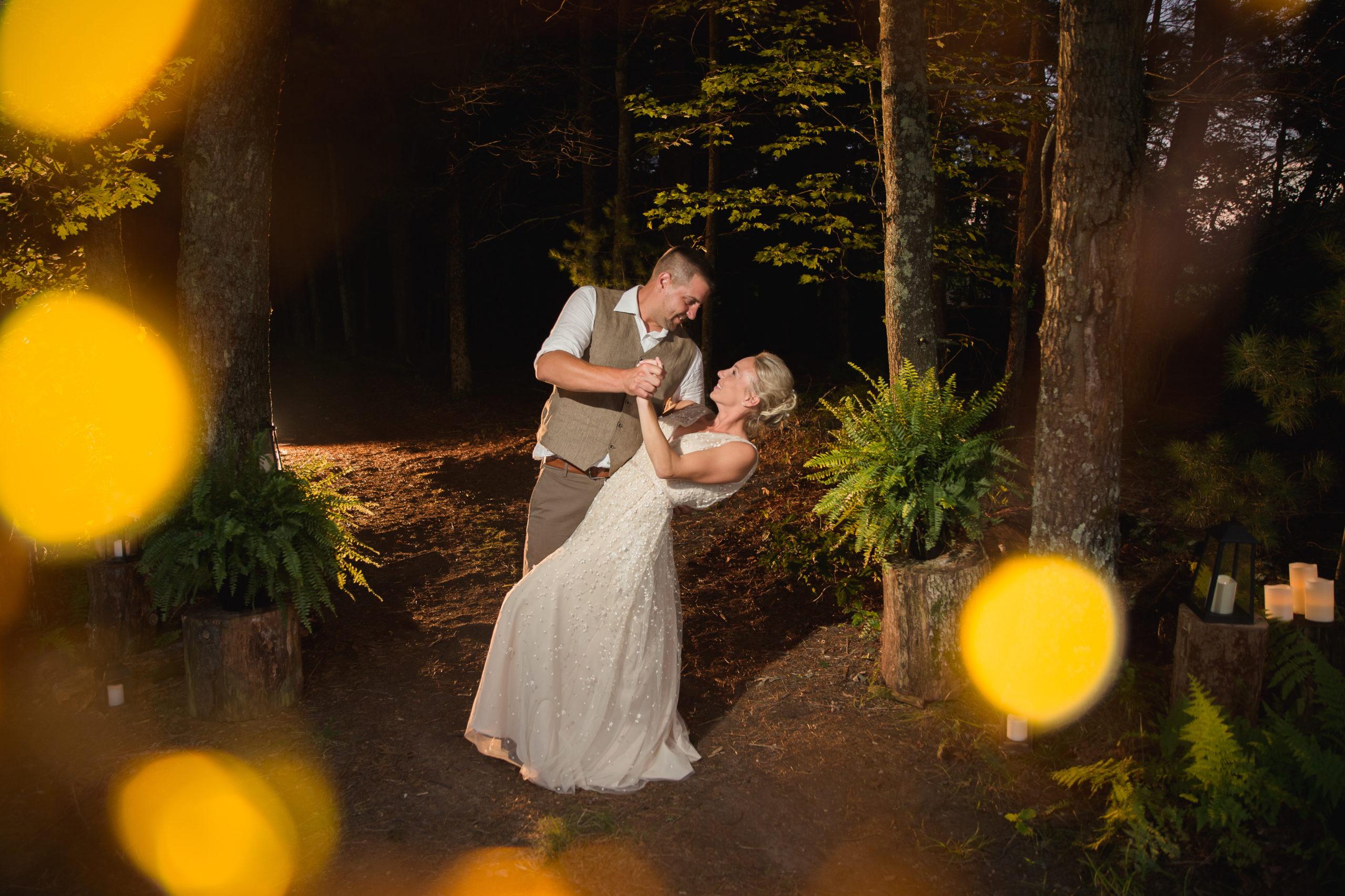 Coventry, Rhode Island, RI, Backyard Wedding, forest, earthy, wedding, tracy jenkins photography, wedding photographer, ri wedding photographer, Rhode Island Wedding photographer, couple photos, fairy lights