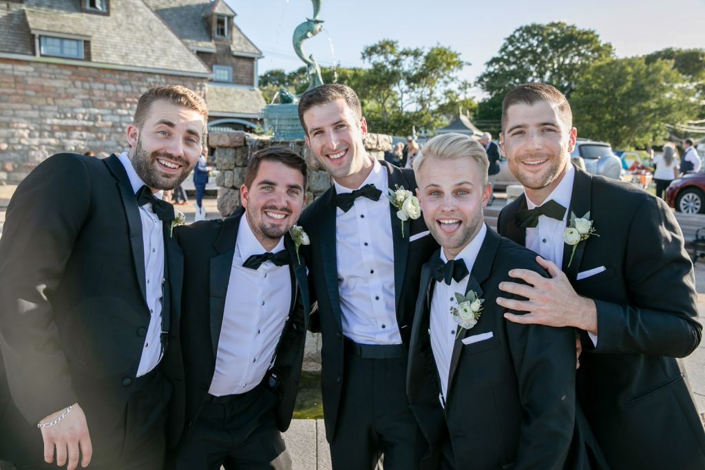 Wedding, Narragansett Towers, The Towers, Narragansett, Rhode Island, RI, Tracy Jenkins photography, RI wedding photographer, Rhode Island wedding photographer, wedding party, groomsmen, groom