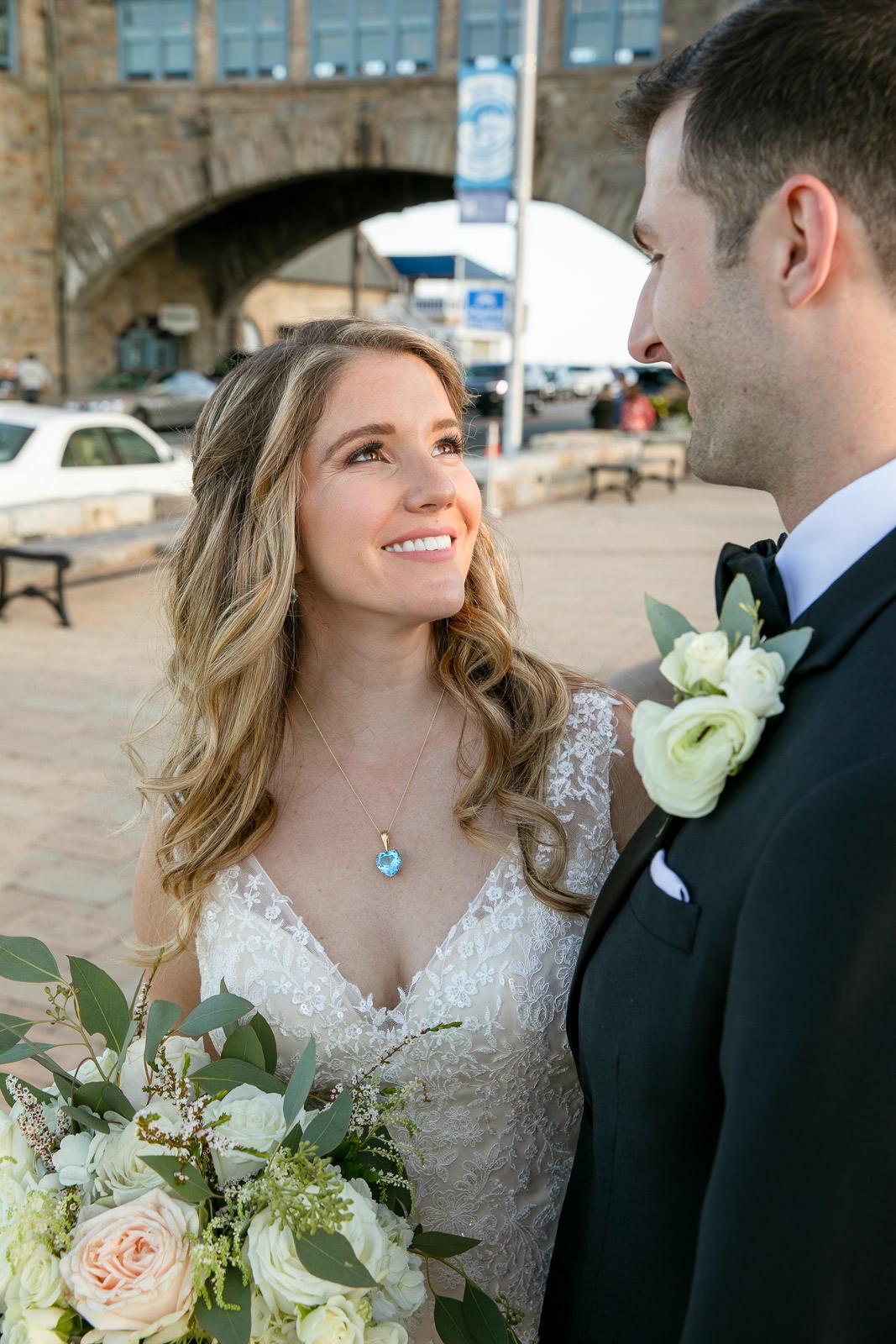 Wedding, Narragansett Towers, The Towers, Narragansett, Rhode Island, RI, Tracy Jenkins photography, RI wedding photographer, Rhode Island wedding photographer, couple photos, bride