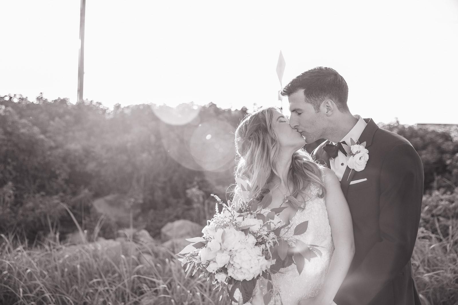 Wedding, Narragansett Towers, The Towers, Narragansett, Rhode Island, RI, Tracy Jenkins photography, RI wedding photographer, Rhode Island wedding photographer, bride, groom, sunset photos, couple photos