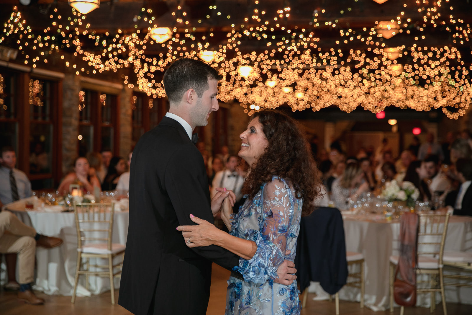 Wedding, Narragansett Towers, The Towers, Narragansett, Rhode Island, RI, Tracy Jenkins photography, RI wedding photographer, Rhode Island wedding photographer, mother son dance, wedding reception