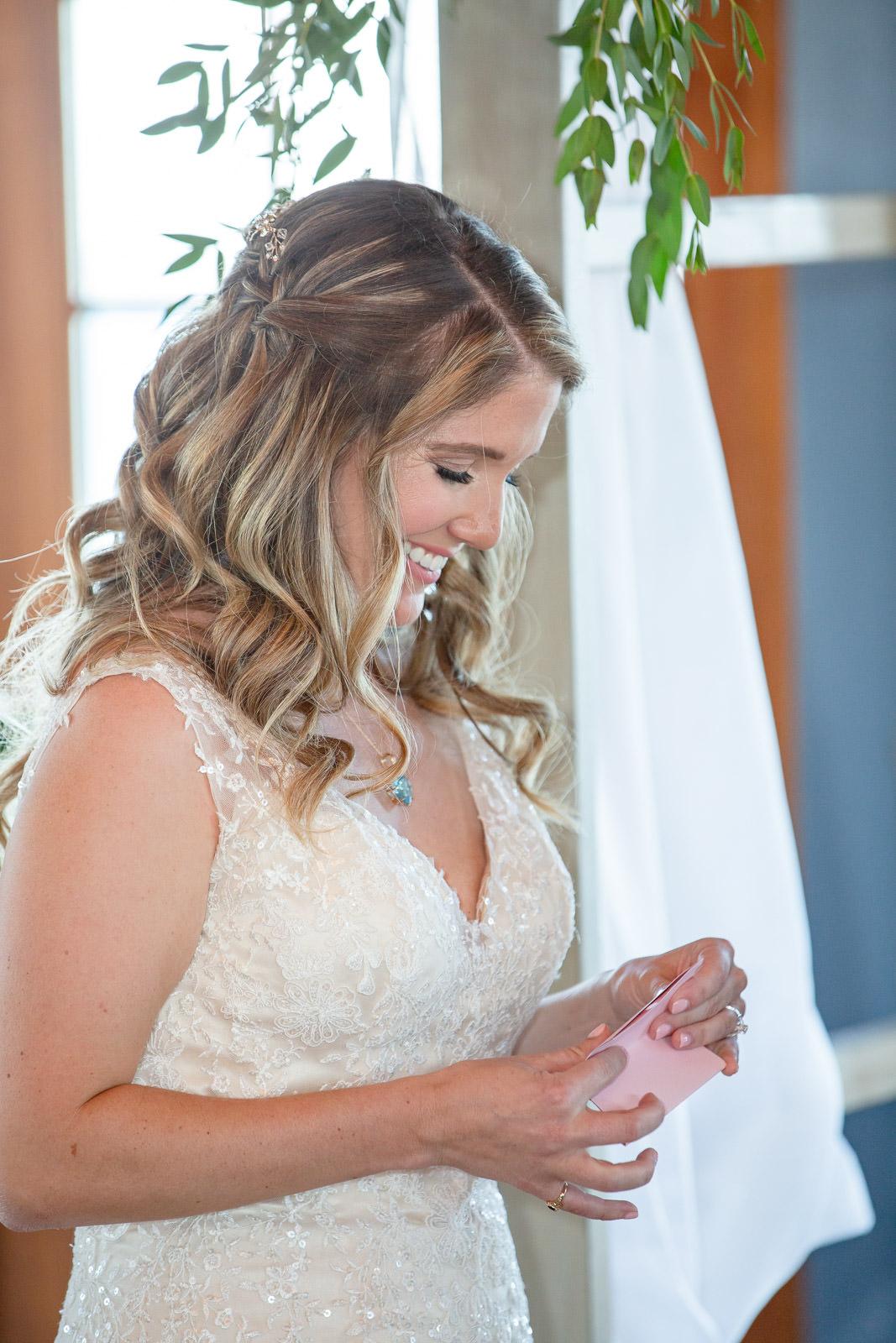 Wedding, Narragansett Towers, The Towers, Narragansett, Rhode Island, RI, Tracy Jenkins photography, RI wedding photographer, Rhode Island wedding photographer, wedding ceremony, reading vows