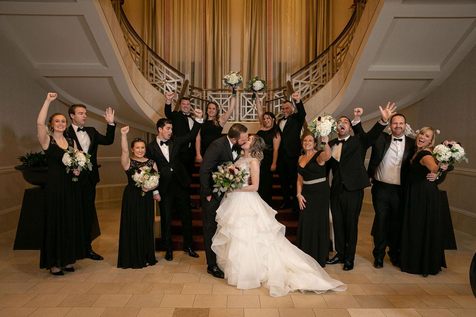 Omni Hotel Providence, Omni, Providence, Rhode Island, RI, Wedding, city wedding, November wedding, Tracy Jenkins Photography, RI wedding photographer, Rhode Island Wedding photographer, wedding party, formals