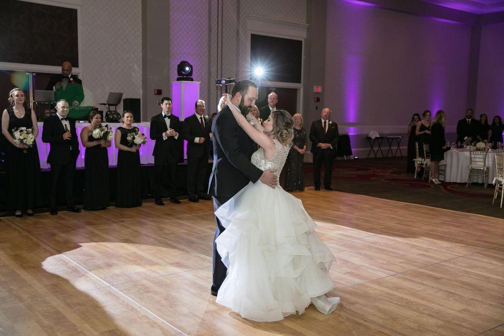 Omni Hotel Providence, Omni, Providence, Rhode Island, RI, Wedding, city wedding, November wedding, Tracy Jenkins Photography, RI wedding photographer, Rhode Island Wedding photographer, reception, first dance