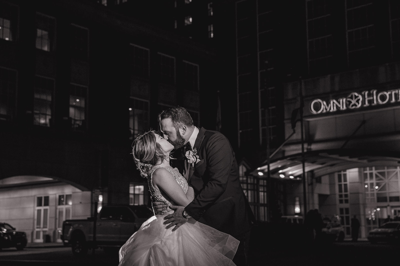 Omni Hotel Providence, Omni, Providence, Rhode Island, RI, Wedding, city wedding, November wedding, Tracy Jenkins Photography, RI wedding photographer, Rhode Island Wedding photographer, romantic photos, couple photos, kiss