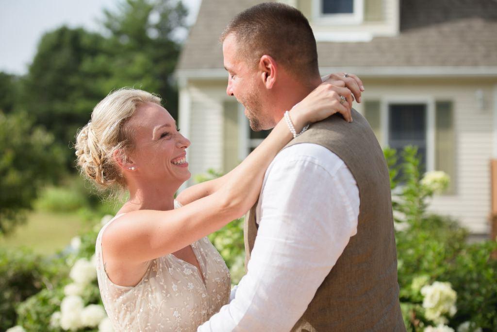 Coventry, Rhode Island, RI, Backyard Wedding, forest, earthy, wedding, tracy jenkins photography, wedding photographer, ri wedding photographer, Rhode Island Wedding photographer, first dance