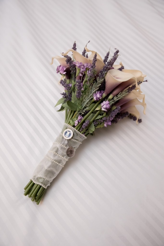 bouquet, getting ready, wedding, bride, tracy jenkins photography, publick house, Massachusetts, new england,  photography