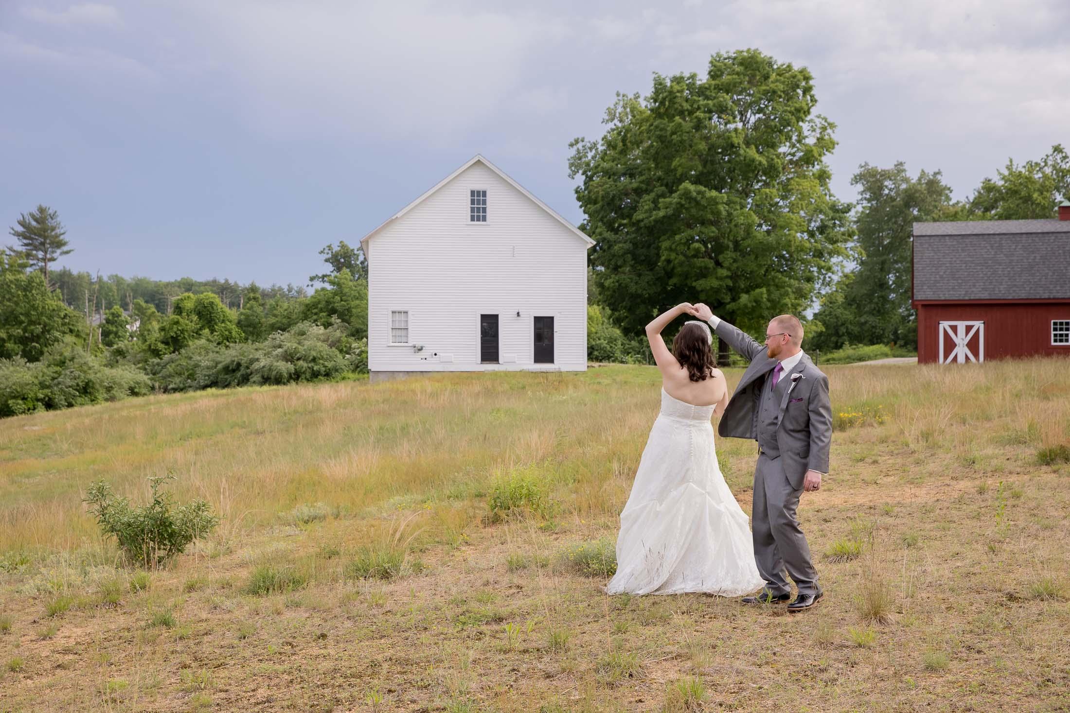 dancing, couple photos, romantic, meadow, wedding, tracy jenkins photography, publick house, Massachusetts, new england,  photography
