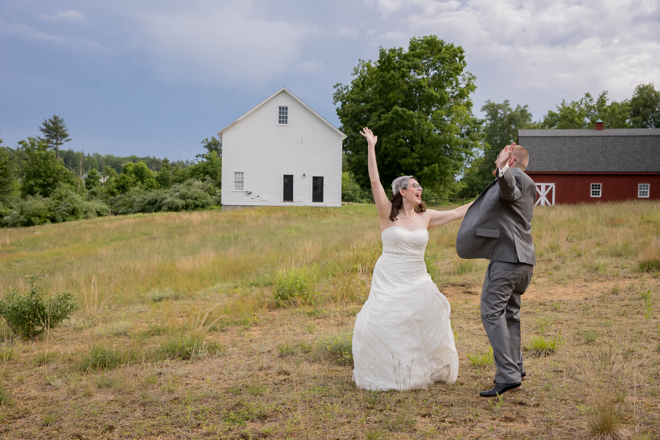 Jump for joy, couple photos, romantic, meadow, wedding, tracy jenkins photography, publick house, Massachusetts, new england,  photography