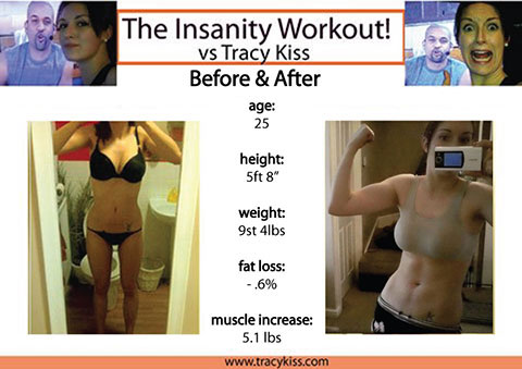 My Body Before And After Insanity