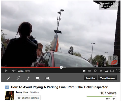 My Parking Inspector Video Footage On Youtube