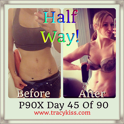 Today Is The Halfway Mark Of P90X - Only 45 Days To Go!