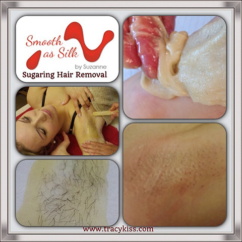 Smooth As Silk Sugaring Under Arm Hair Removal