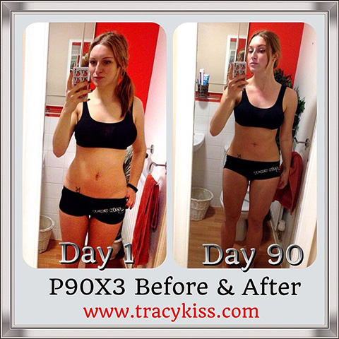 P90X3 Before And After Pictures