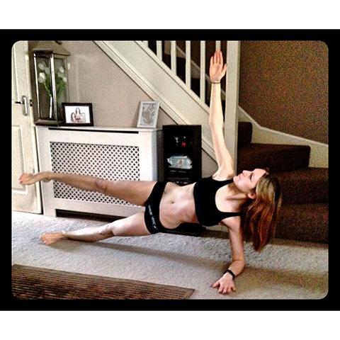 P90X3 Forearm Plank