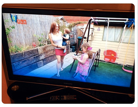 My Children And I On Series 1 Episode 2 of Sky TLC Extreme Beauty Disasters