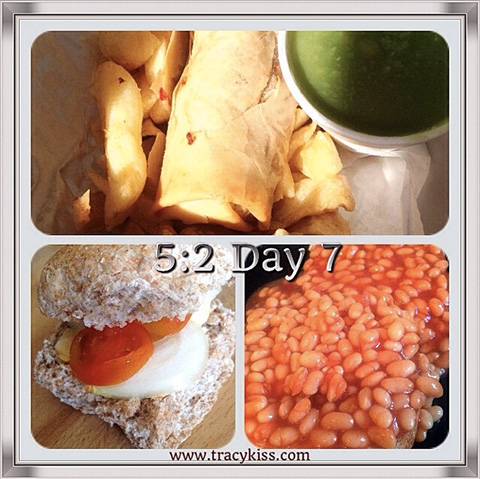 5:2 Day 7 Food