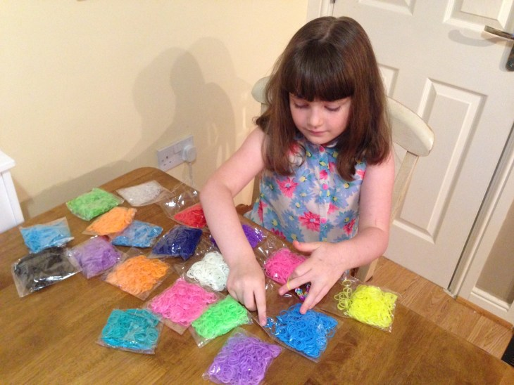 Does Millie Have Enough Loom Bands?