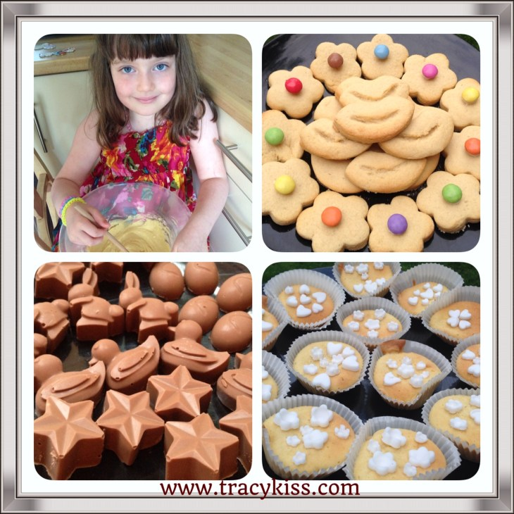 Making Cakes, Cookies And Chocolates