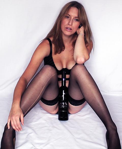 Tracy Kiss For Black Moth Truffle Vodka