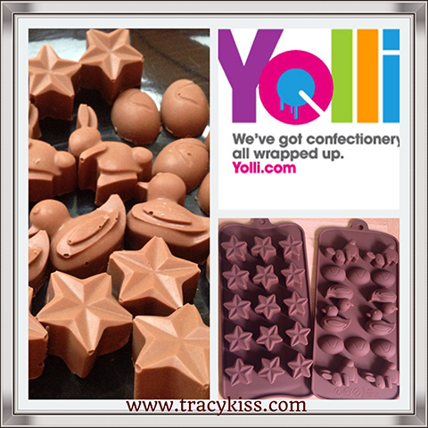 Yolli Chocolate Silicone Moulds