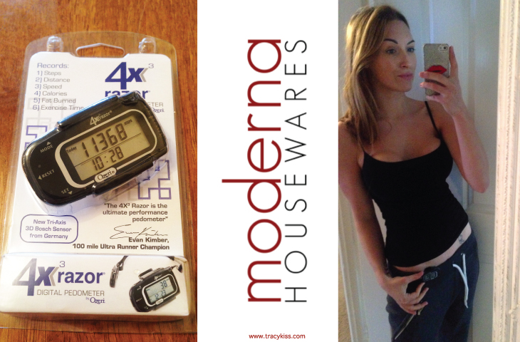 Moderna Housewares Ozeri 4x3razor Digital Pocket Pedometer